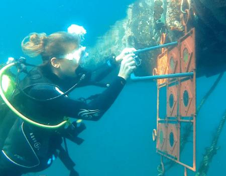 test check under water